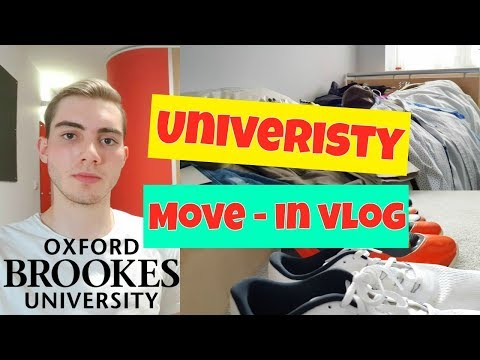 University: Moving in & Channel update |Oxford Brookes