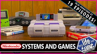 My Life in Gaming Marathon #3 - Nintendo Systems and Games