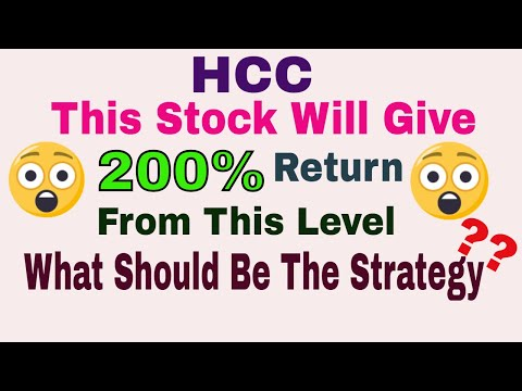 HCC || Will Give 200% Return || What Should Be The Strategy ??|| Trade Talk