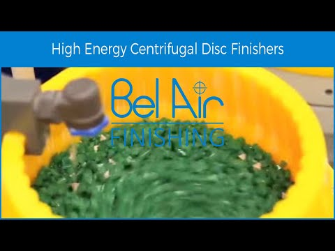 Bel Air Finishing Centrifugal Disc Machine