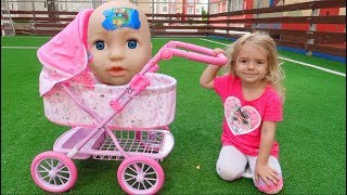 Boo boo story from Anabella and baby |  Anabella Show