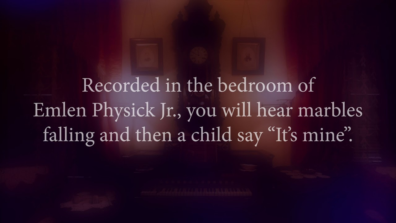Download Cape May ghost voice caught on audio recording