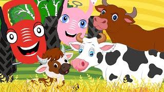 Таблица умножения на 5 - Тыр Тыр Трактор - Песенки для детей