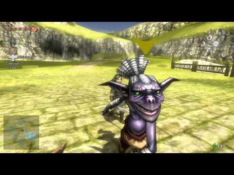 Zelda Twilight Princess HD Golden Bugs Male And Female Mantis Locations