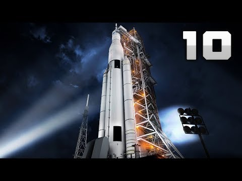 10 TALLEST Space Rockets Ever Launched! [4K]