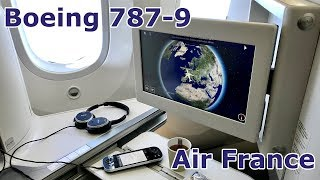 Boeing 787-9 | Air France | Business Class | Inflight Experience | Lyon to Paris