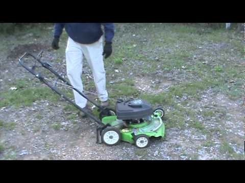 Old Start Cold Start 2 Cycle Lawn Boy Mower