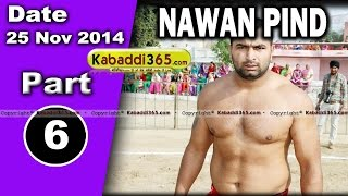 Nawan Pind Tapprian (Nawanshahr) Kabaddi Tournament 28 Sep 2014 Part 6  By Kabaddi365.com