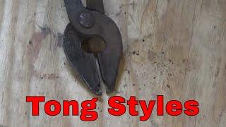 Blacksmithing tong, an overview. - blacksmithing for beginners