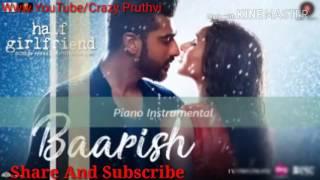 Baarish Instrumental-Karaoke (Best Version) _ Half Girlfriend _ Arjun & Shraddha Kapoor 2017