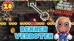 Rennen VERBOTEN 👑 #10 CHALLENGES New Super Mario Bros. U Deluxe