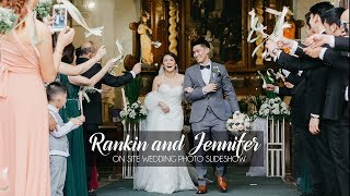 Rankin and Jennifer | On Site Wedding Photos by Nice Print Photography