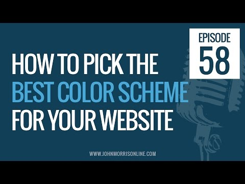 JMS058: How to Pick the Best the Best Color Scheme For Your Website