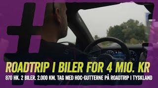 2.000 km i biler til 4 mio. kr. Vi tager på roadtrip til Mercedes Museet i Stuttgart