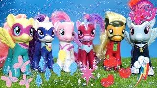 Мой маленький пони Могучие пони из Китая обзор на 6 супер пони My little pony Power pony #mlp