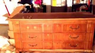 Diy Real Wood Dresser (part 1)