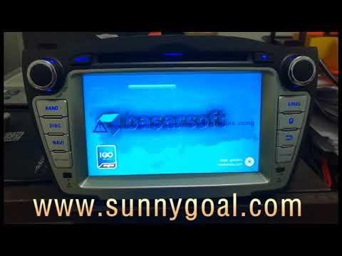 Test: Android 7.1 OS 7 Inch Touchscreen Car Radio GPS DVD Player for Hyundai Tucson/IX35(2009-2014)