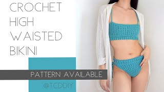 """This was a serious case of """"i can crochet that"""". i saw similar bikini online and fell in love, but wasn't willing to spend $100+ on it. 😂 so here we are...."""