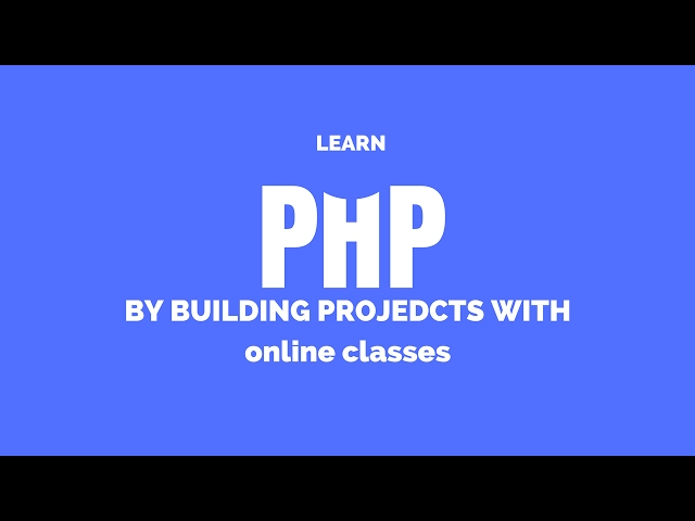 PHP Tutorial : 58 : PHP Project : Object Oriented Programming in PHP : Object Oriented PHP