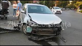 Accident pe bulevardul Ferdinand, în Constanța. Două autoturisme implicate