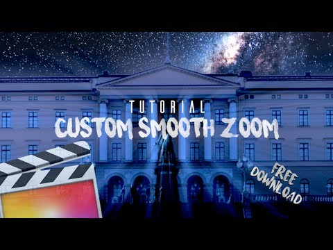Smooth Zoom Transition Pack // FREE DOWNLOAD | Final Cut Pro X