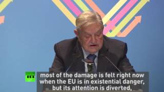 George Soros: Brexit should be catalyst for EU