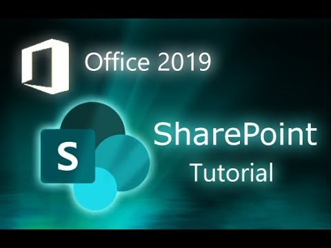 Microsoft SharePoint 2019 - Full Tutorial For Beginners [+ Overview]