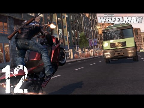 Прохождение игры Вин дизель Wheelman Часть 2