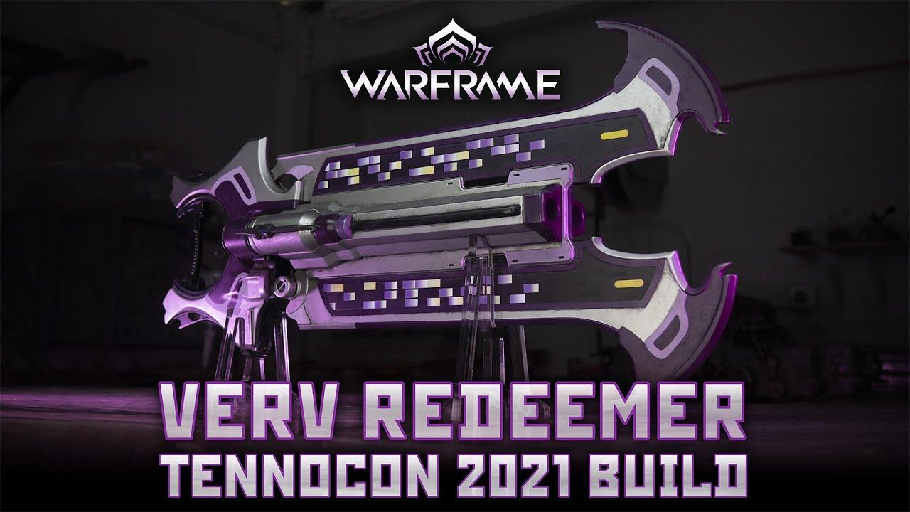 Build Your Own Warframe Verv Redeemer!