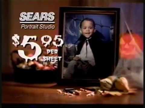 Sears Portrait Studio Halloween TV Ad (1998)