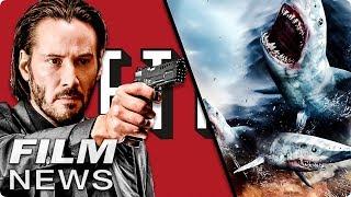 FILM NEWS: JOHN WICK 3 - Netflix will verrückter sein - SHARKNADO 5 streaming