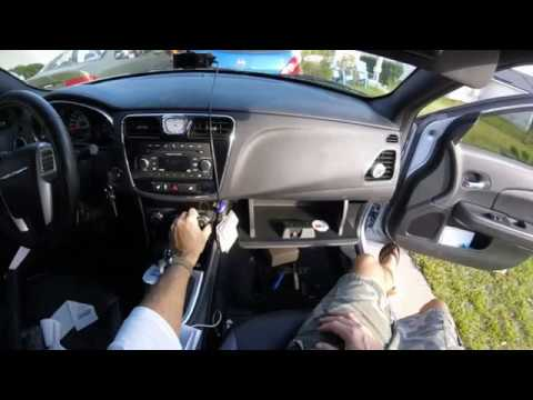 How to fix tapping or knocking noise behind the passenger dash on a Chrysler 200 (20112014