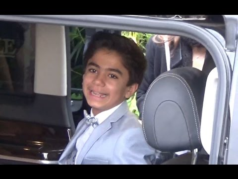 Neel Sethi - Mowgli actor @ Paris 11 april 2016 premiere The Jungle Book - avril