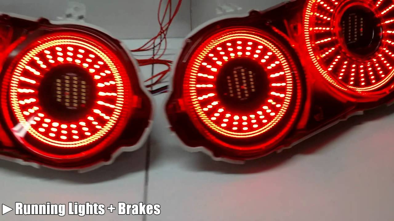 custom nissan gtr r35 led tail lights by zleds youtube. Black Bedroom Furniture Sets. Home Design Ideas
