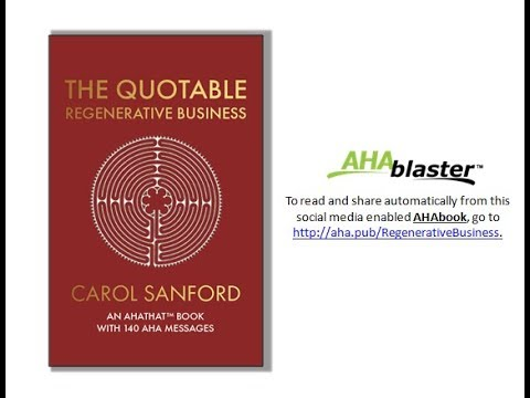 The Quotable Regenerative Business Automatically Share via the AHAblaster