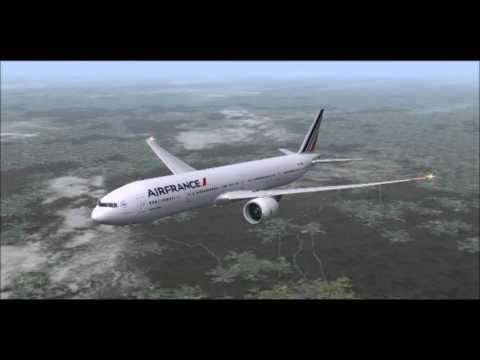Air France Boeing 777-300ER / Paris Fort de France Lamentin FS2004
