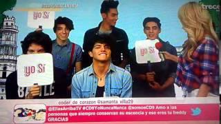 CD9 en Yo Nunca Nunca en Ellas Arriba 05/05/15