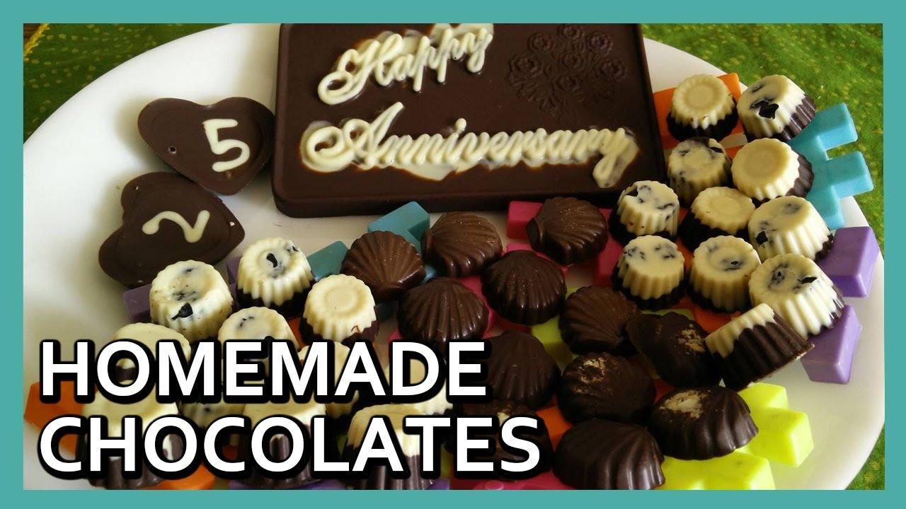Homemade Assorted Chocolates Recipe