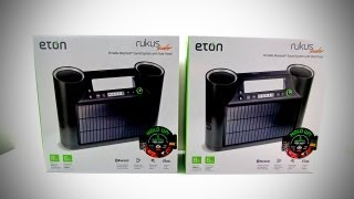 Eton Rukus Solar Review & Giveaway!
