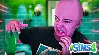 UMA GOSMA INVADIU MEU BANHEIRO! - The Sims 4
