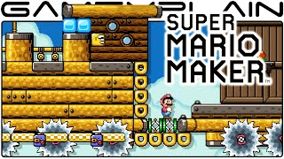 Express Train to Star Station - Super Mario Maker Level Showcase