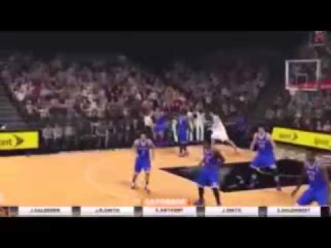NBA 2K15 Xbox One Utah Jazz vs 1984 1985 SIXERS Playoffs