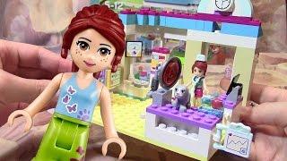 Лего френдс Ветеринарная клиника игрушки для девочек Мистер Желтая губка