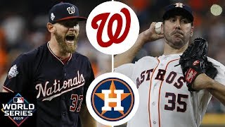 Washington Nationals Vs. Houston Astros Highlights | World Series Game 2 (2019)
