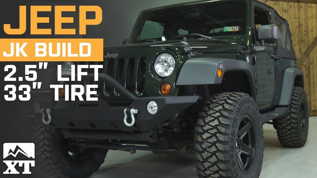 Jeep Wrangler 2007 2017 Jk 2 5 Quot Lift Kit Hd Front