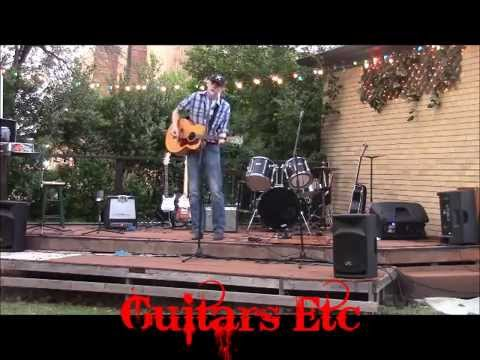 "Tanner Sparks at Guitars Etc ""Don't Close Your Eyes"" Cover"