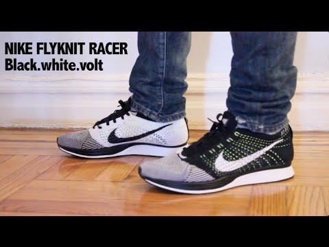 On Foot: Nike Flyknit Racer