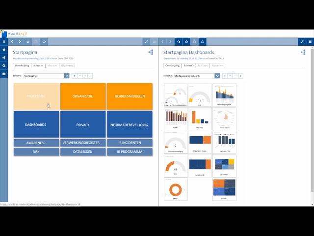 Demo Compliance Management Framework