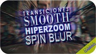 Como hacer transiciones Smooth, HiperZoom, Spin Blur en VEGAS Pro 2017