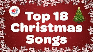 TOP 18 Christmas Songs and Carols Playlist 🎅
